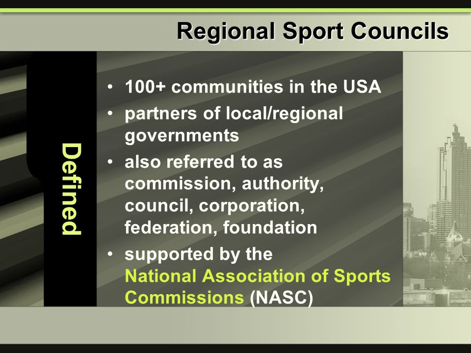 100+ communities in the USA partners of local/regional governments also referred to as commission, authority, council, corporation, federation, founda