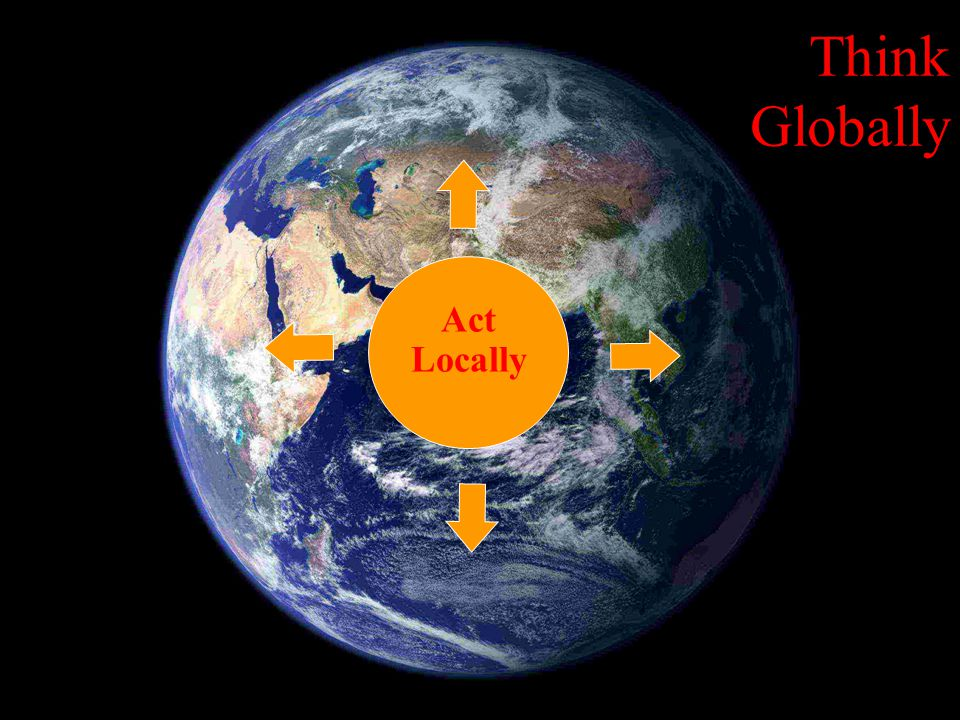 Proutist Universal Think Globally Act Locally