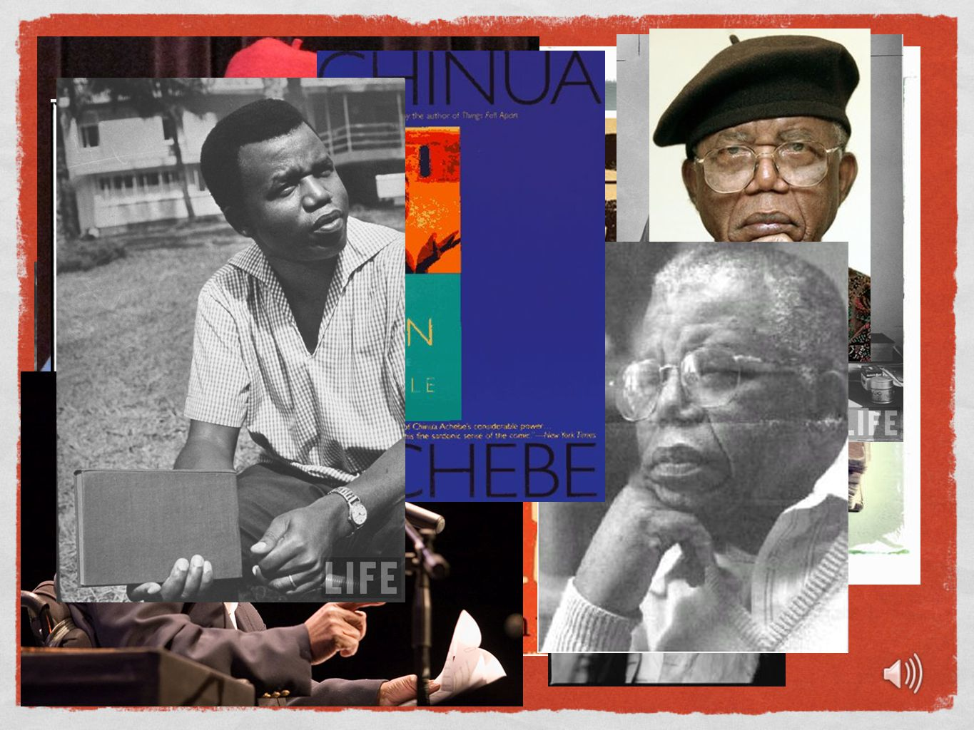 Occupation (1967-70) Nigerian Civil War In 1967, Achebe entered the Biafran governement service and cofounded a publishing company with his friend.