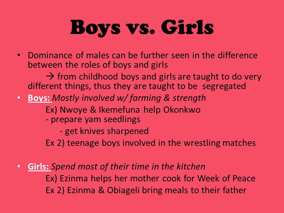 Boys vs.