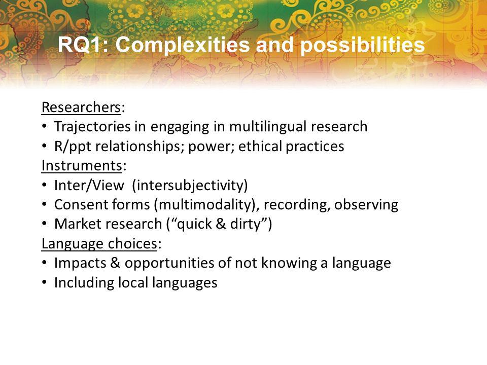Interpretation/translation: Mediators—how do they influence interpretation of findings.