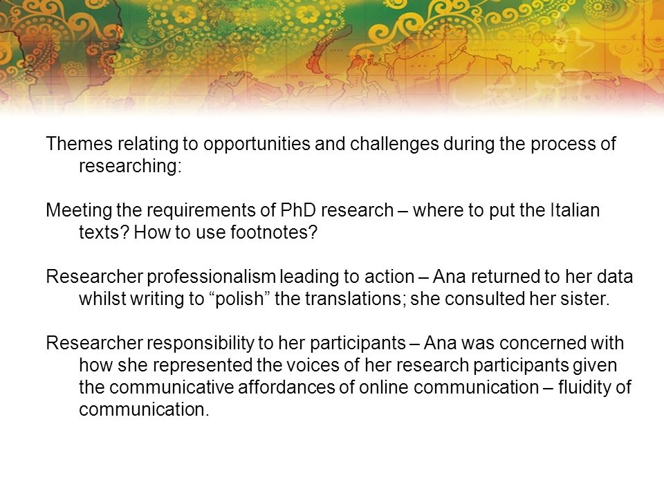 Case study 2 (Researcher agency) Mariam Attia (2012) Reflective practice in research undertaken multilingually.