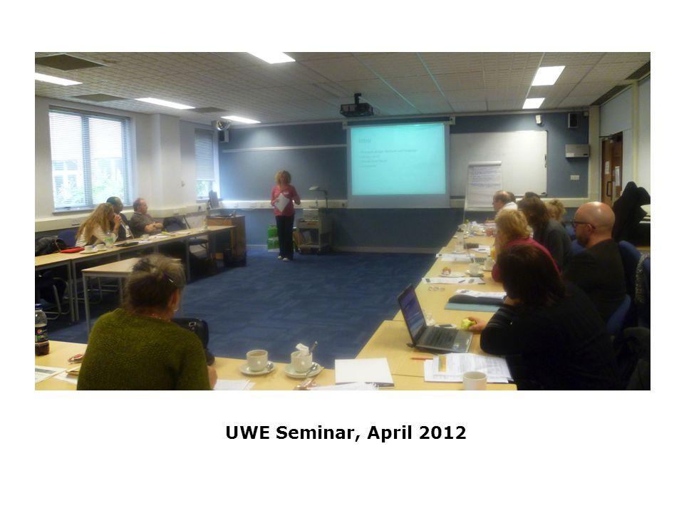 UWE Seminar, April 2012