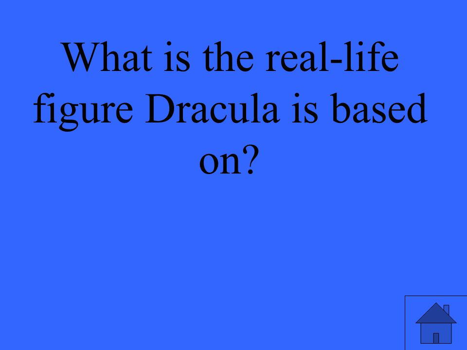 What is the real-life figure Dracula is based on?