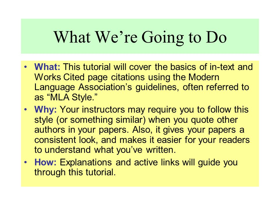 Capitalization Per MLA style, you should capitalize the first letter of: –an author's first and last name, –the first word of a work's title, –major words (not articles like: a, an, the) within the title of a work, –the publisher name, –the place of publication.