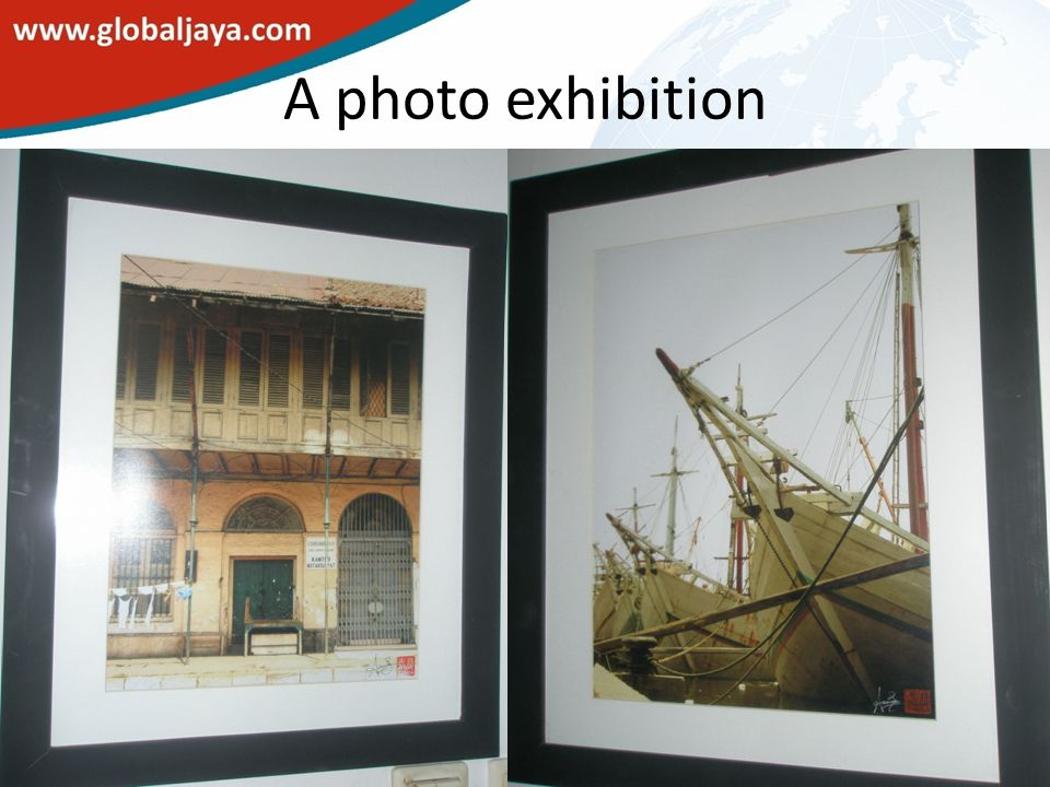 A photo exhibition
