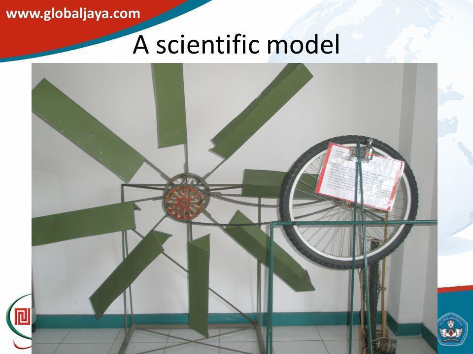 A scientific model
