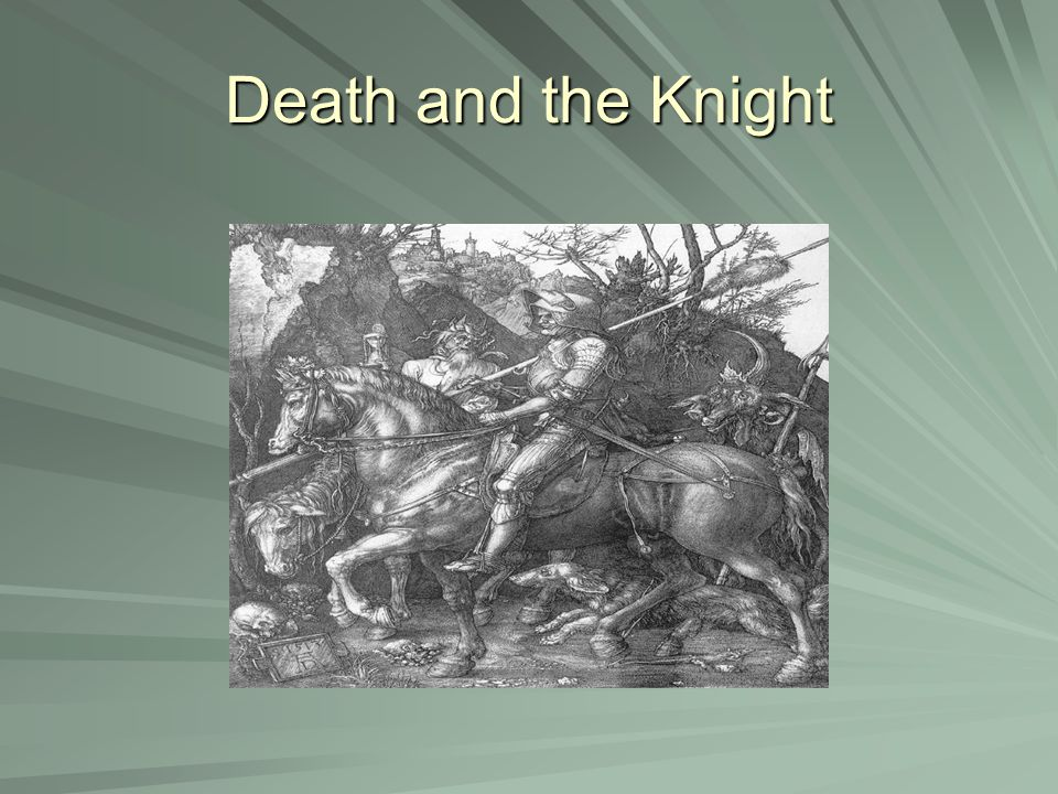 Death and the Knight