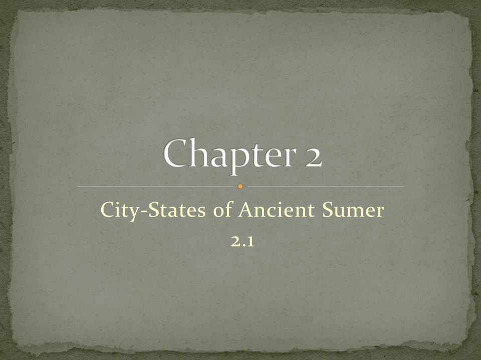 City-States of Ancient Sumer 2.1