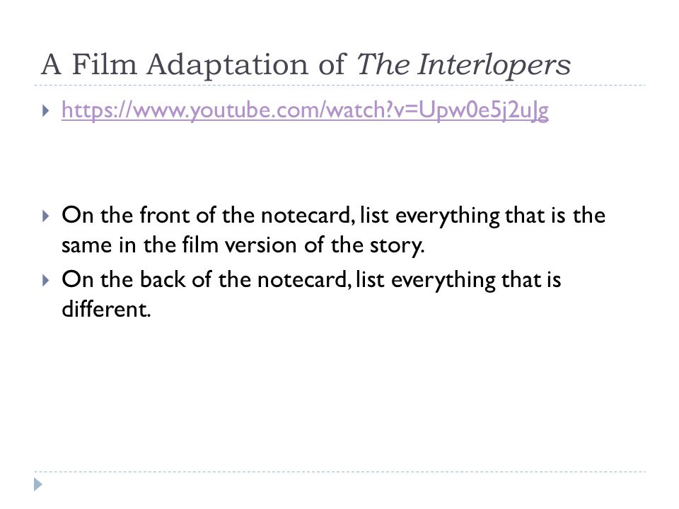 Review the Story  Main Characters. Setting.  Exposition.