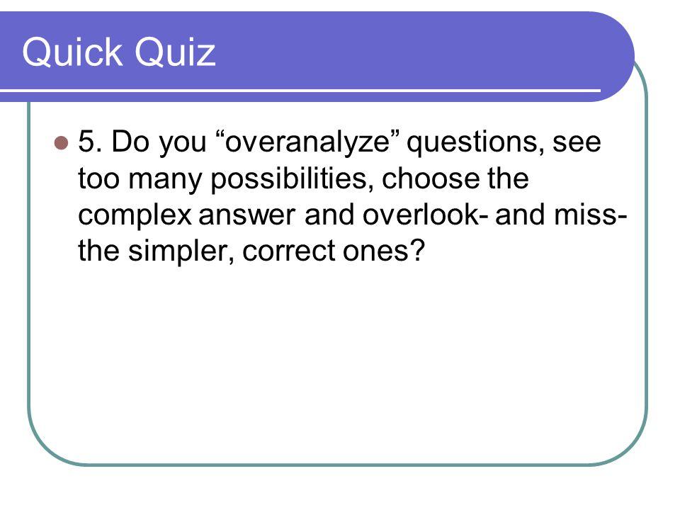 Quick Quiz 5.