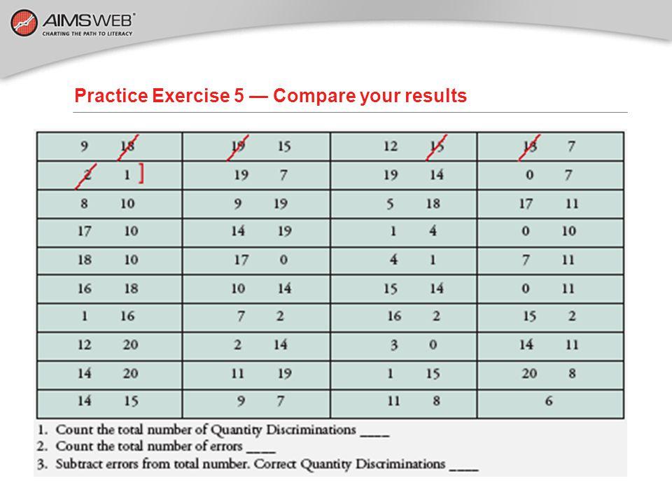 Practice Exercise 5 — Let's Score!