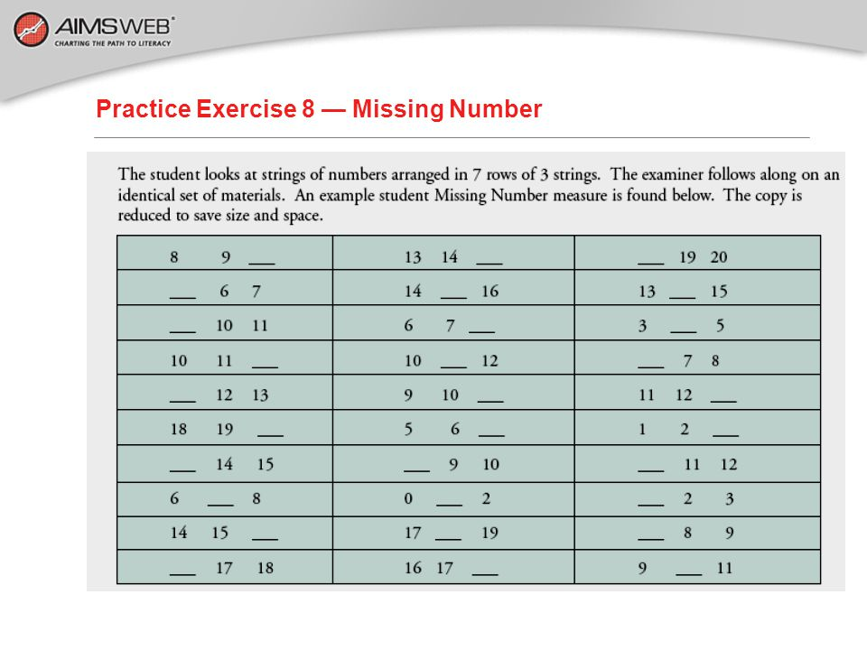 Practice Exercise 7 — Compare your results