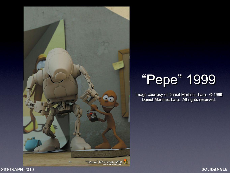 Pepe 1999 Image courtesy of Daniel Martinez Lara.