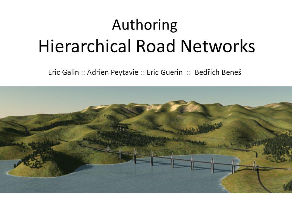 Outline Motivation Previous work Algorithm – Overview – Road generation – Removing redundant roads – Mergin roads Results