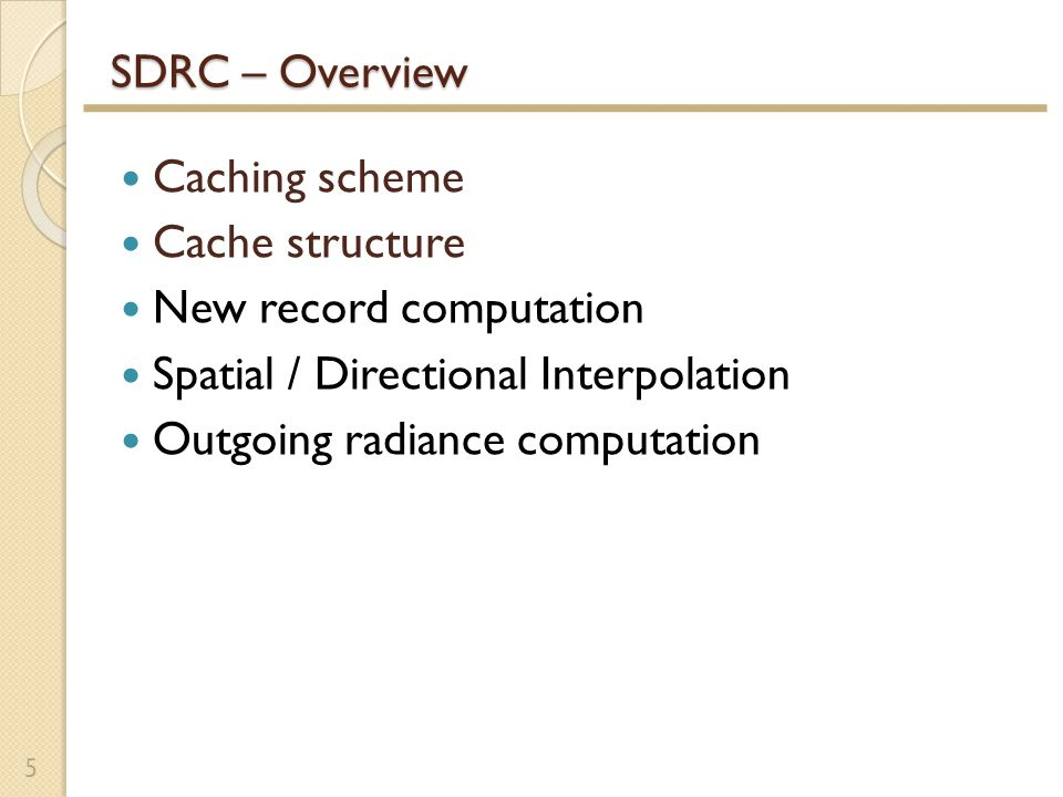 Spatial Cache Lookup Spatial Cache Miss.