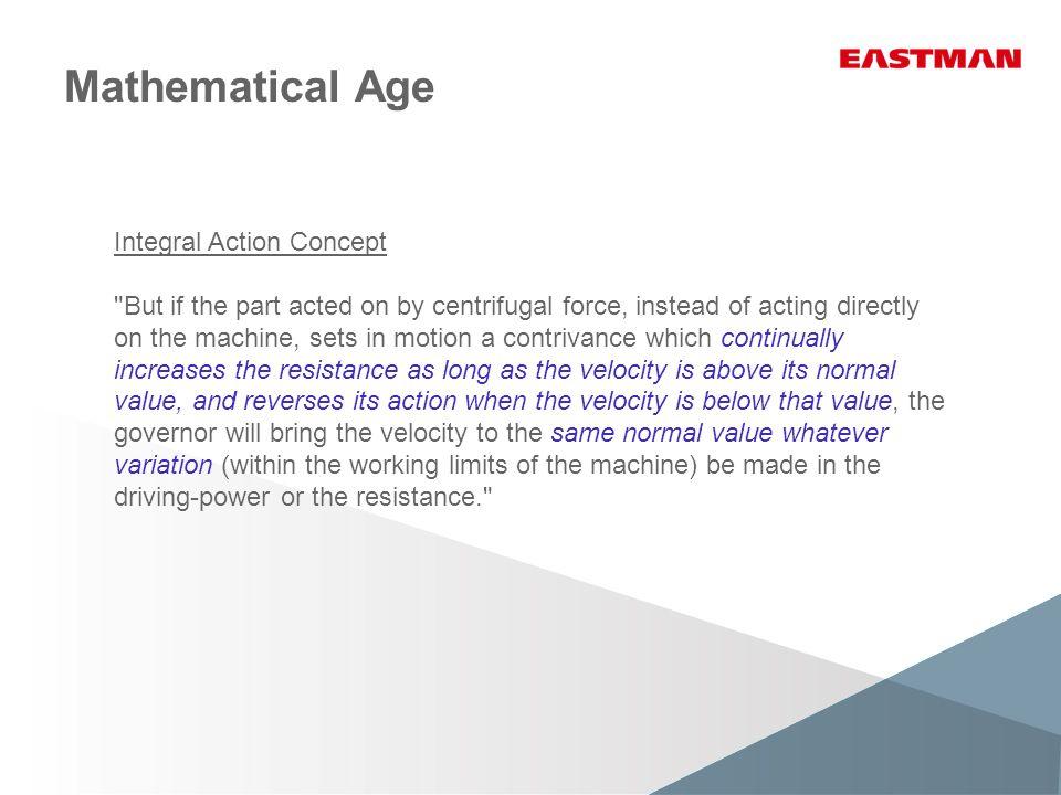 Mathematical Age Integral Action Concept