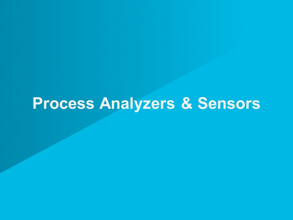 Process Analyzers & Sensors