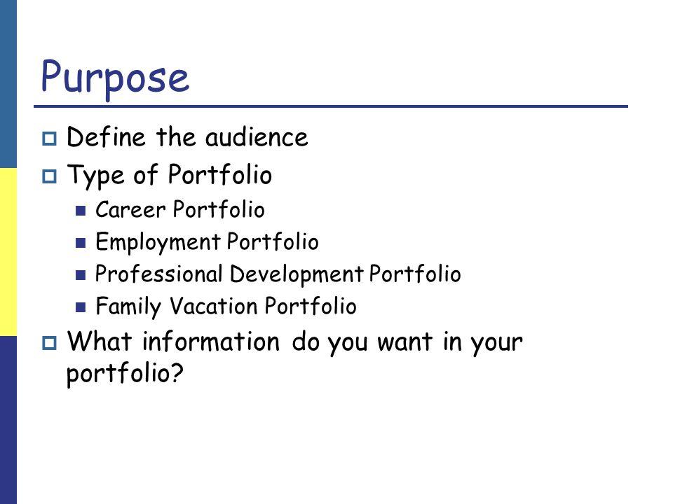 Creating your Portfolio Folder Let's start by opening FrontPage and creating a Portfolio folder!