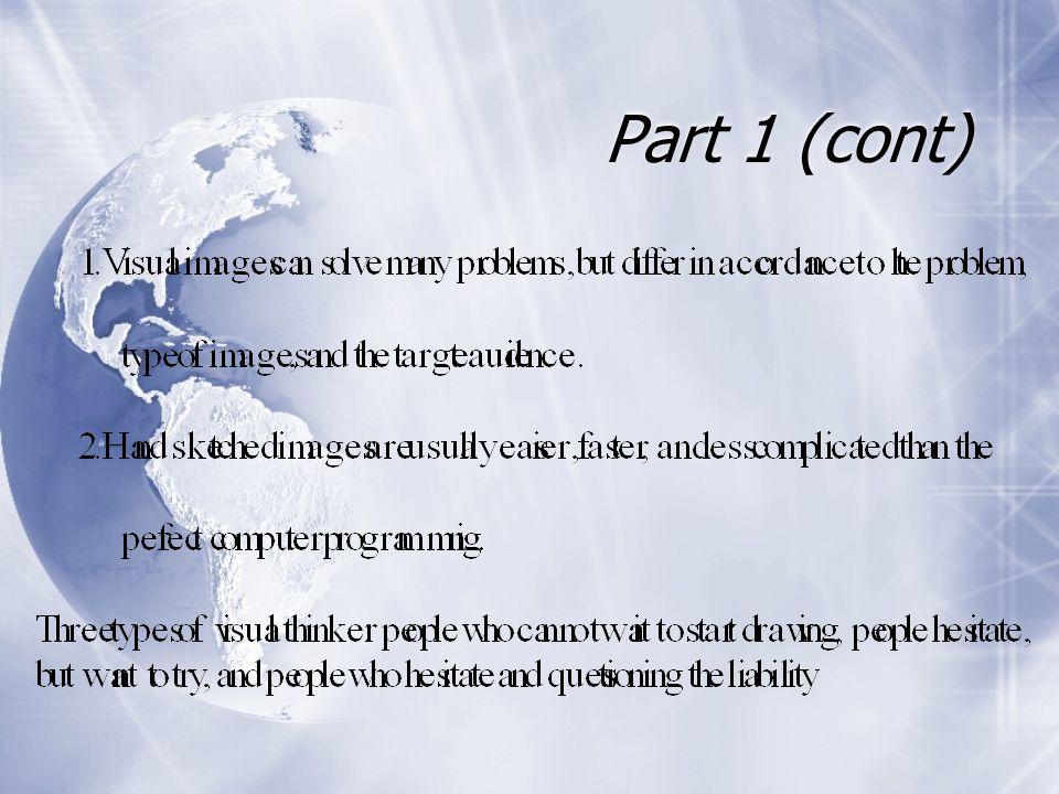 Part 1 (cont)