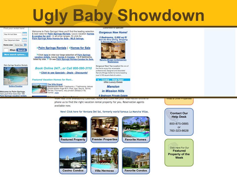 Ugly Baby Showdown