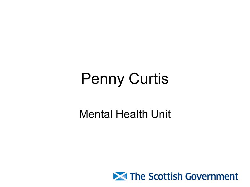 Penny Curtis Mental Health Unit