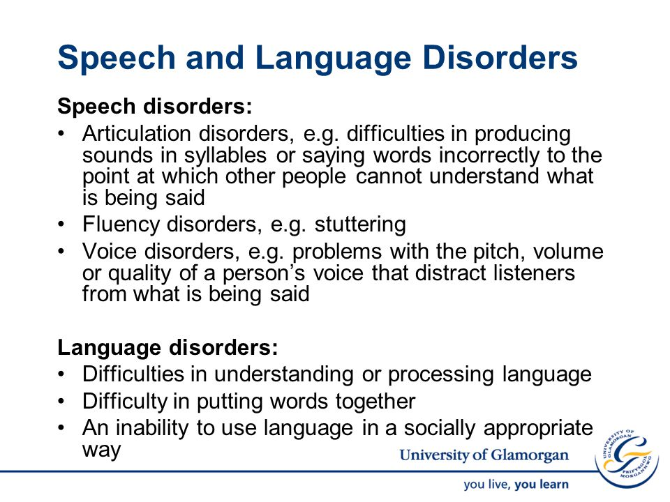 Background Communication disorders are positively associated with: low attainment behavioural problems mental health issues poor employment prospects criminal behaviour.