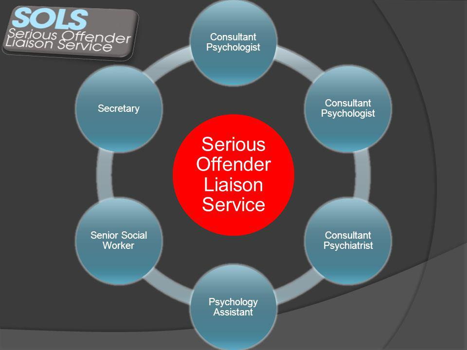 Personality disordered offenders Sexual harm Domestic abuse StalkingArson Other serious violence