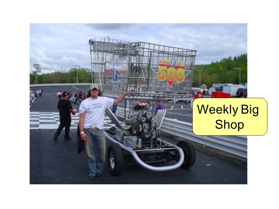 Weekly Big Shop