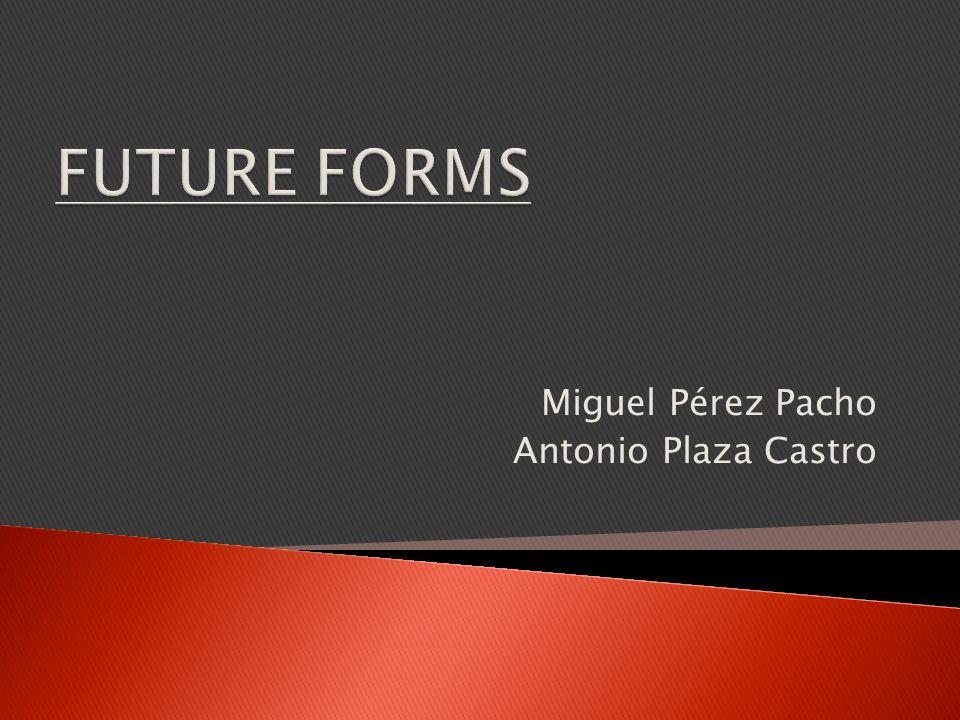 Miguel Pérez Pacho Antonio Plaza Castro