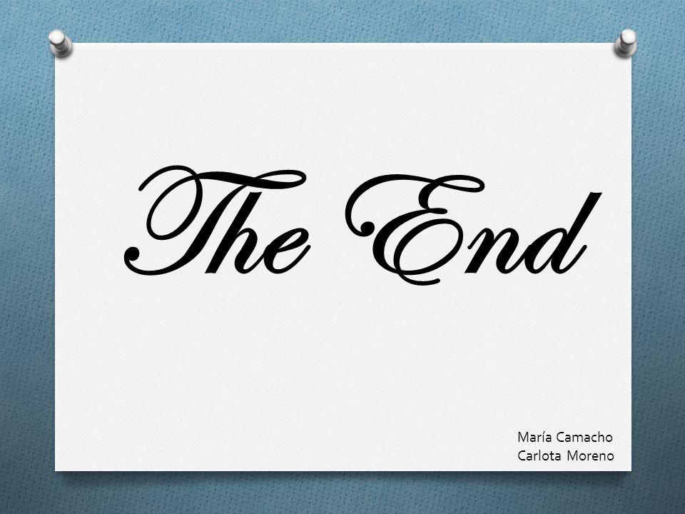 The End María Camacho Carlota Moreno