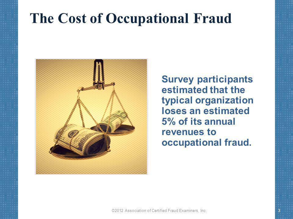 Types of Occupational Fraud