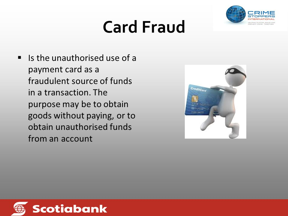Conclusion  A collaborative approach could only positively impact the efforts of Commercial Banks in the fight against fraud card payment.