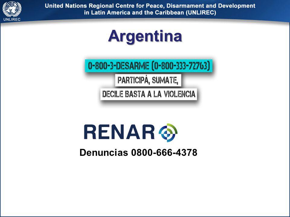 Argentina Denuncias 0800-666-4378