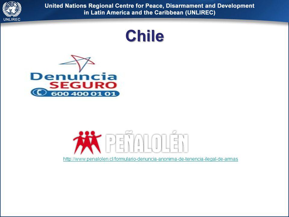 Chile http://www.penalolen.cl/formulario-denuncia-anonima-de-tenencia-ilegal-de-armas
