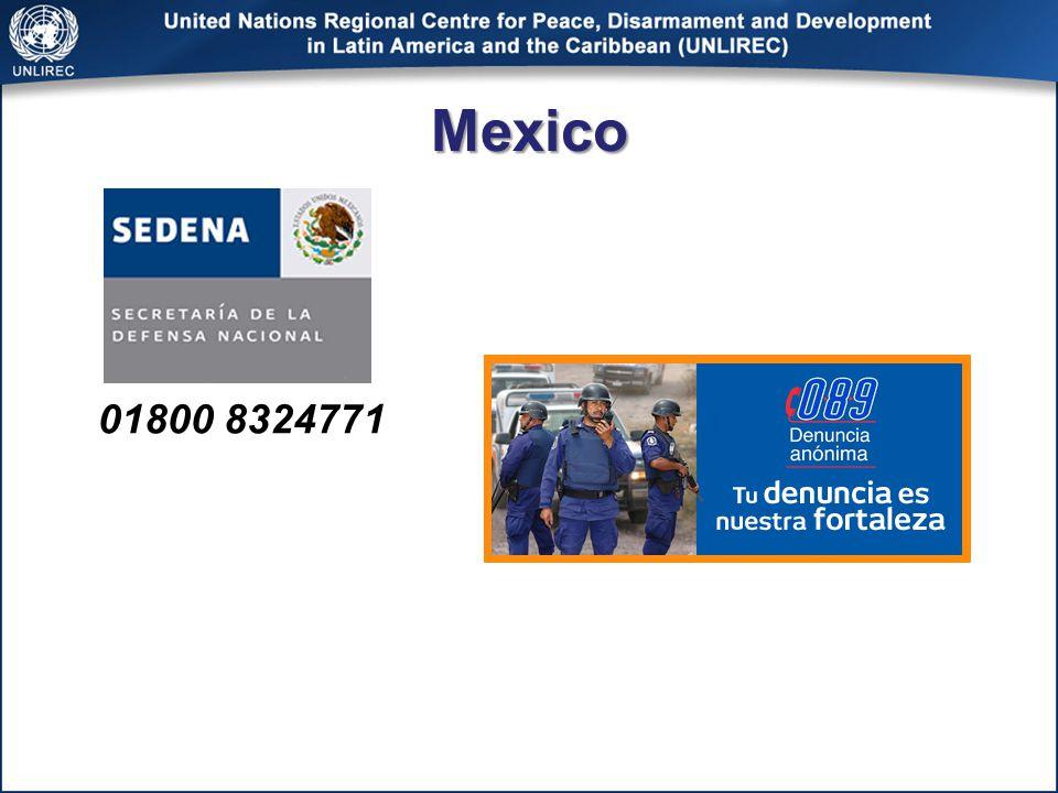 Mexico 01800 8324771