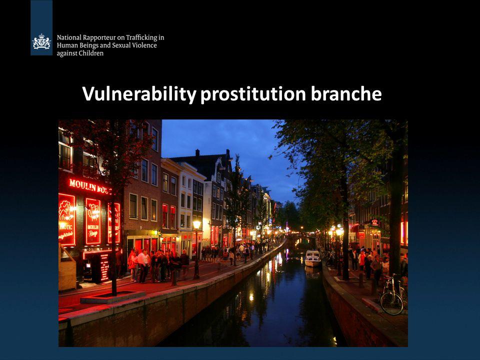 Vulnerability prostitution branche
