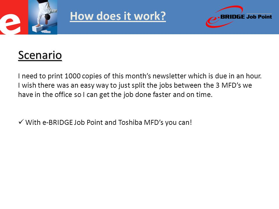 How does it work?  Here is my 2 page newsletter and I need to print 1000 copies.