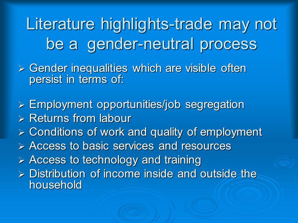 Identifying Gender Sensitive Products  In order to identify gender sensitive products, three steps are undertaken.