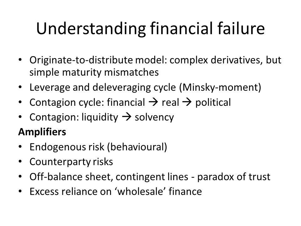 Broad principles underlying reform and regulatory change Core (well-accepted) Undercapitalized financial system Limits of micro-prudential (individual) rationality in regulation, supervision Limit size, complexity, in some cases interconnectivity of financial inst.