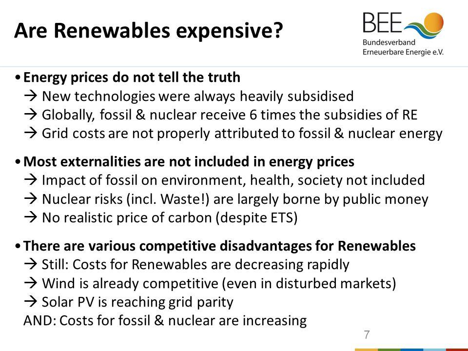 Renewables in Germany (2011)