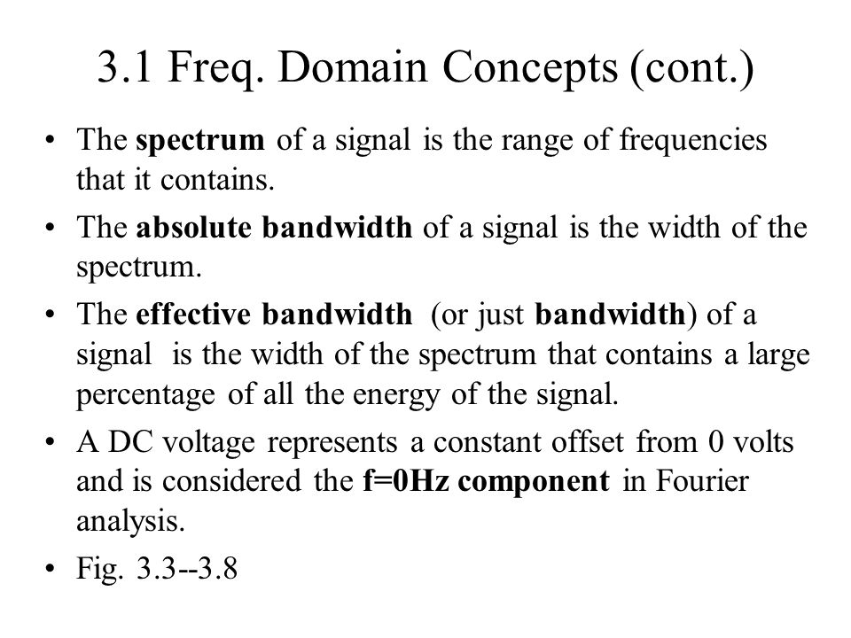 Appendix 3A: Signal Strength Attenuation--the loss of signal strength as it propagates along a transmission medium.