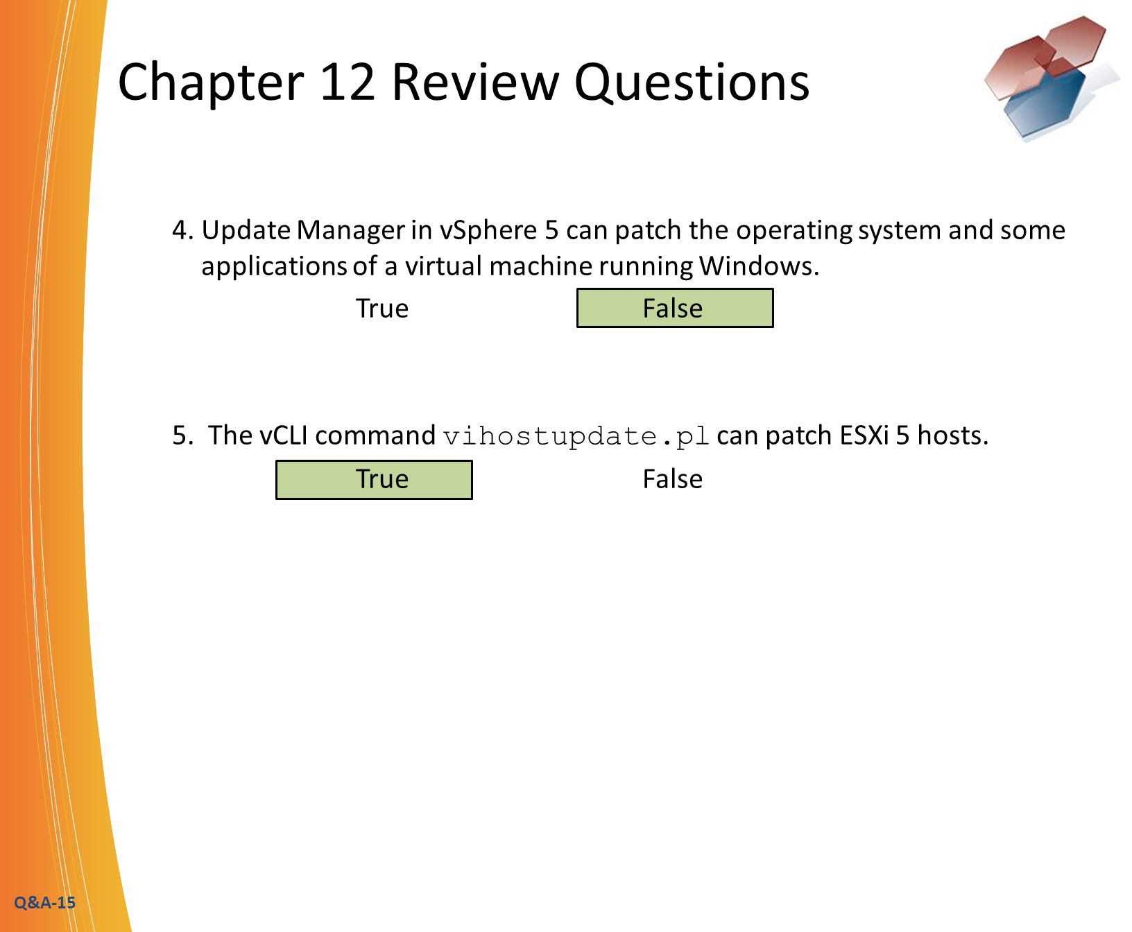 Q&A-15 Chapter 12 Review Questions 4.