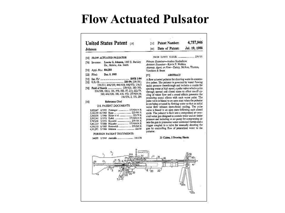 Flow Actuated Pulsator