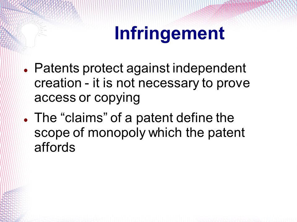 Term Patents subsist for a defined term After a patent expires or lapses the invention falls into the public domain and may be freely used by anyone Currently, Canadian patents extend for a term of 20 years from the application filing date Formerly, patents extended for 17 years from the issue date