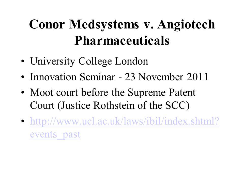 Conor Medsystems v.