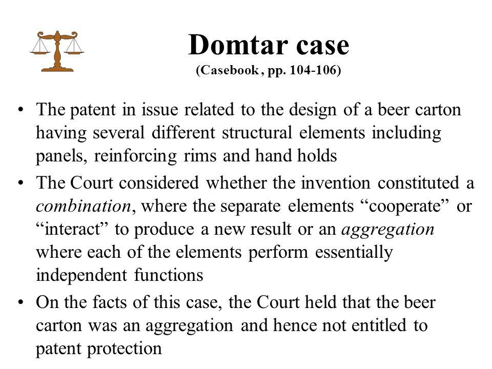 Domtar case (Casebook, pp.