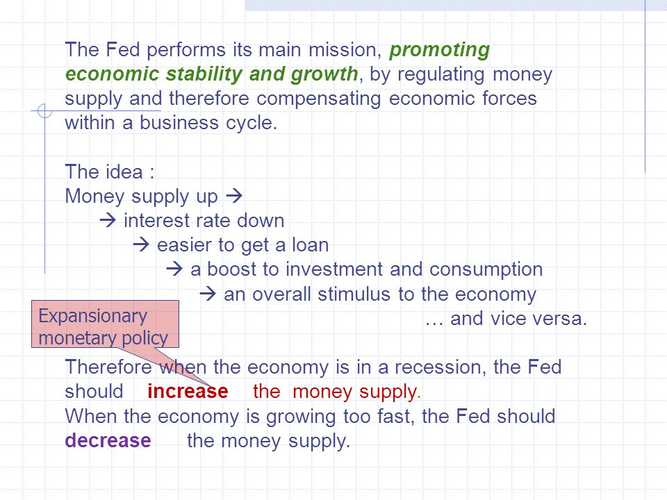 Limitations of monetary policy: Monetary policy is very effective in slowing down an economic boom.