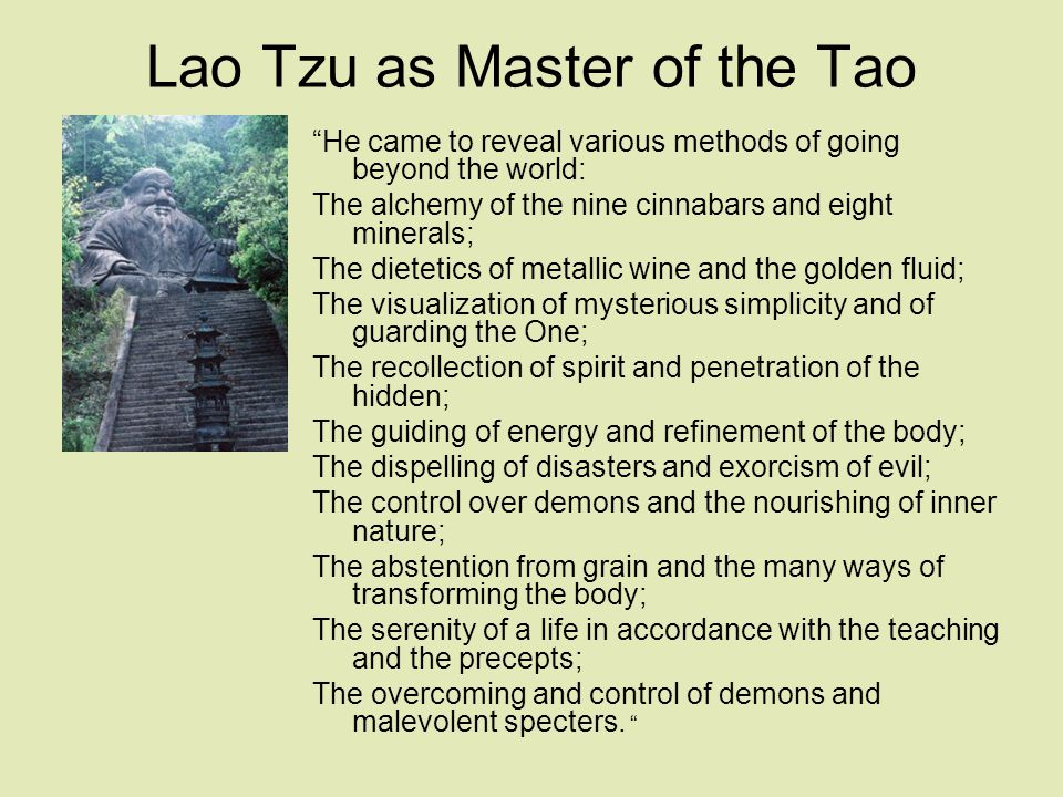 The Tao te Ching The Way and Its Power, written c.