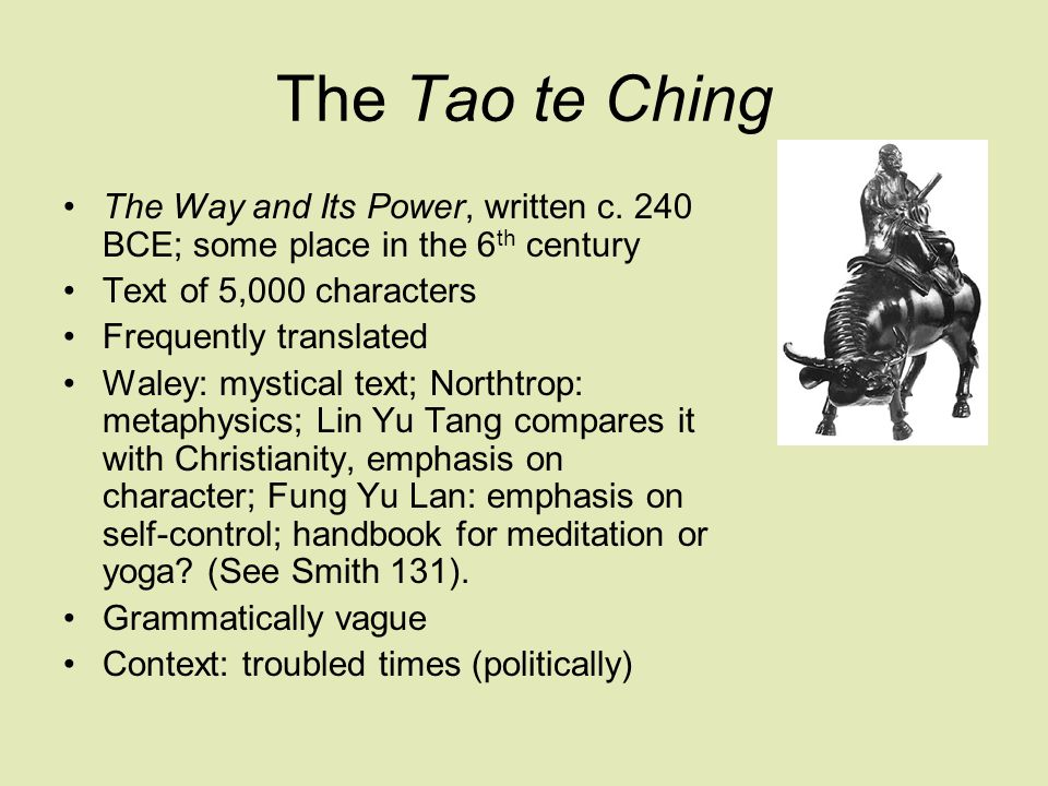 The mystery of the Tao Chapter 1: The Dao that can be told of Is not the Absolute Dao; The Names that can be given Are not Absolute Names.